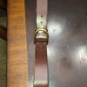 Brown Ralph Lauren leather Belt